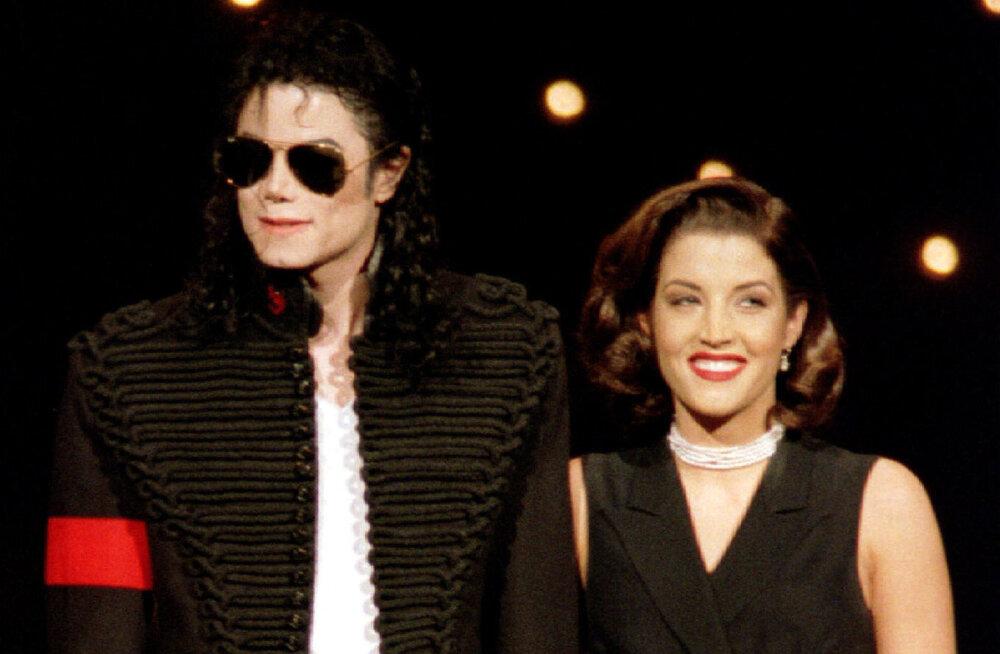 Süüdistus: Michael Jacksoni ja Elvis Presley tütre abielu oli vaid näitemäng