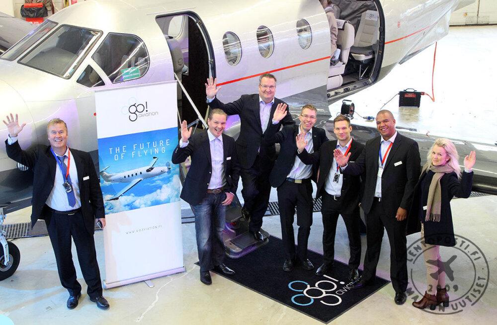 Новая авиалиния доставит из Таллинна в Хельсинки за ежемесячную плату