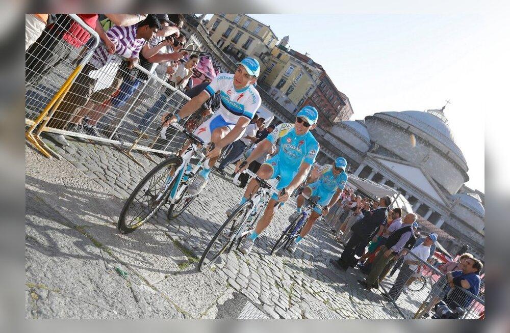Tanel Kangert Giro d´Italia avamisel, jalgratas