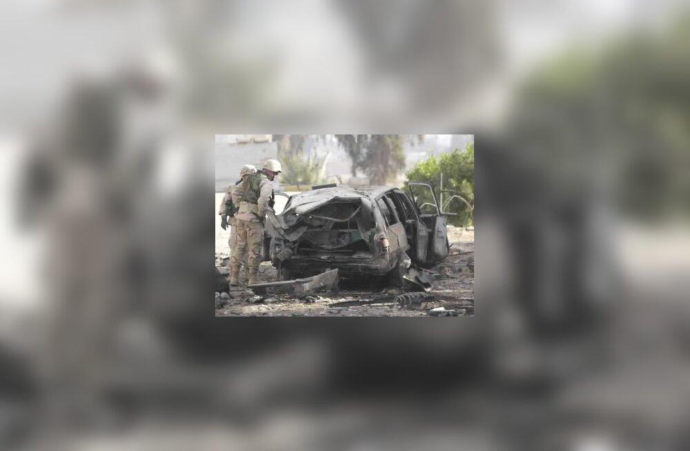 Pommiplahvatus Bagdadis
