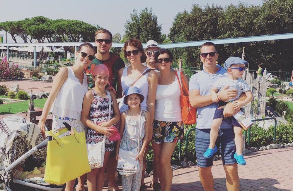 Birgit Sarrap perega Itaalias