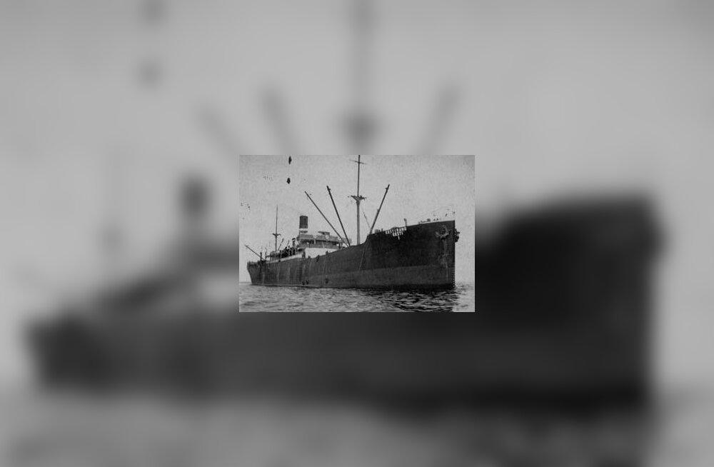 Eesti suurima laeva Eestiranna viimane teekond