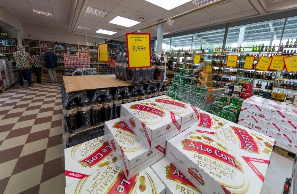 A. Le Coq Premium Export õlu