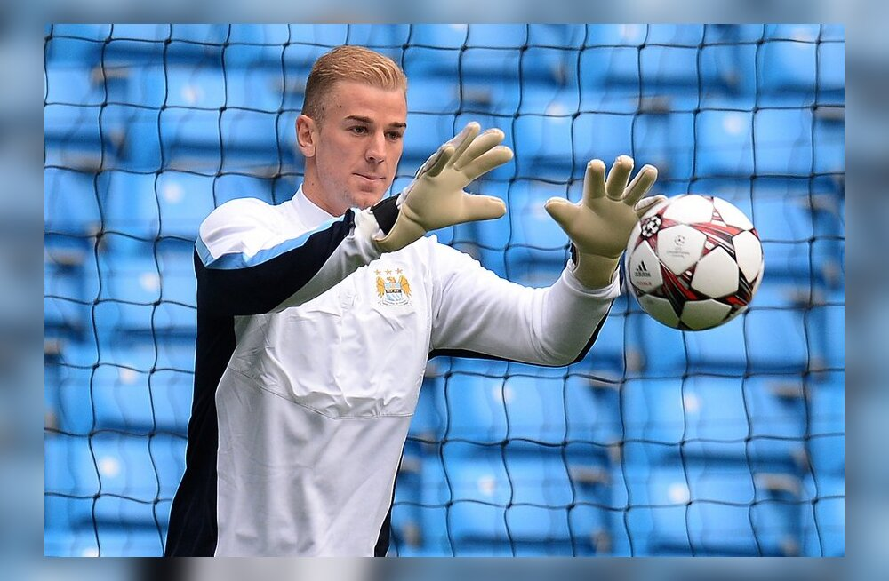 Manchester City väravavaht Joe Hart