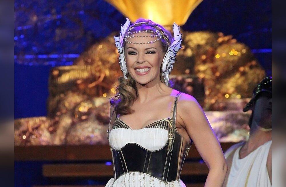 FOTOD: Kylie oli laval nagu Vana-Kreeka jumalanna