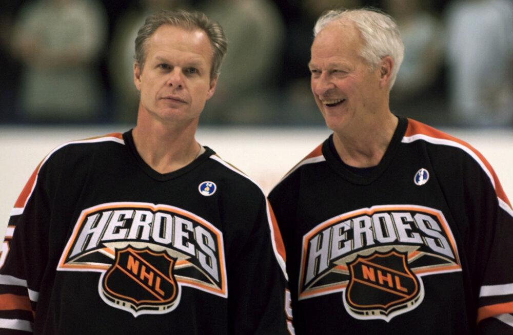 NHL-i legend Gordie Howe suri 88-aastaselt