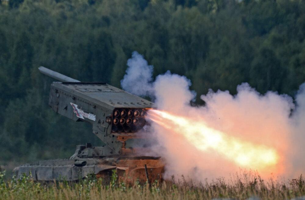 Leegiheitjad ja vaakumpommid: Vene Föderatsiooni maaväe termobaarilised relvad