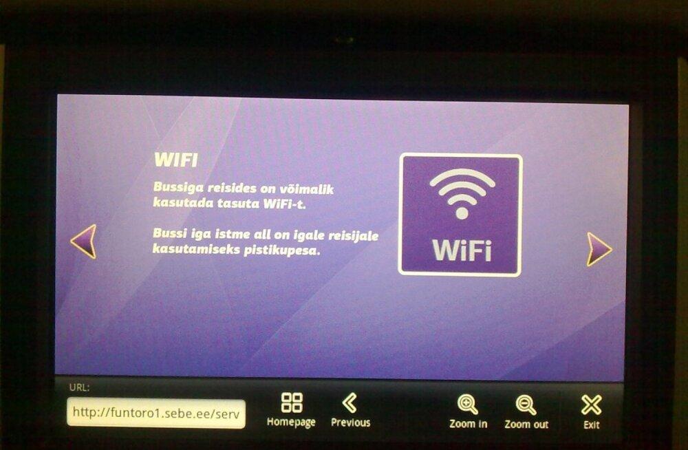Wifi. Foto on illustratiivne.