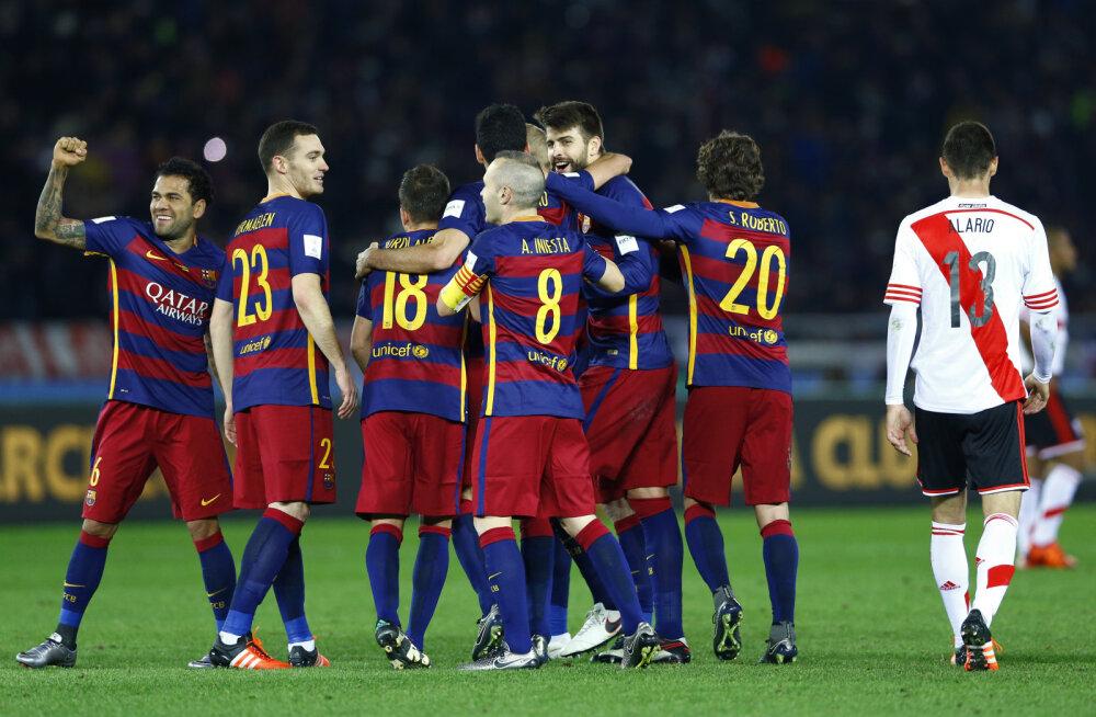 VIDEO: Järjekordse 3:0 võidu teeninud Barcelona tuli klubide MMi võitjaks