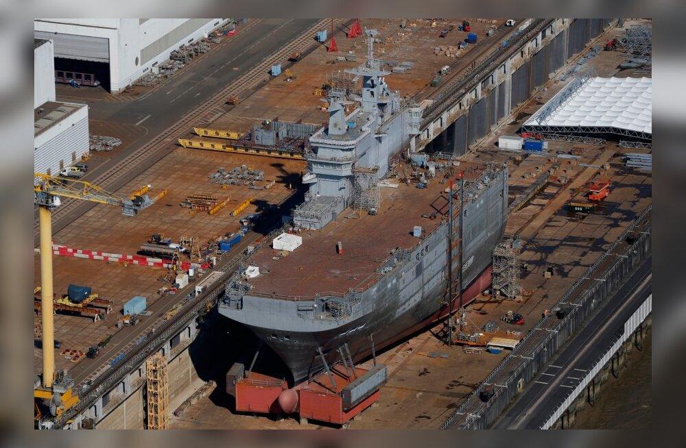 Venemaa tahab Mistralid Mustale merele paigutada