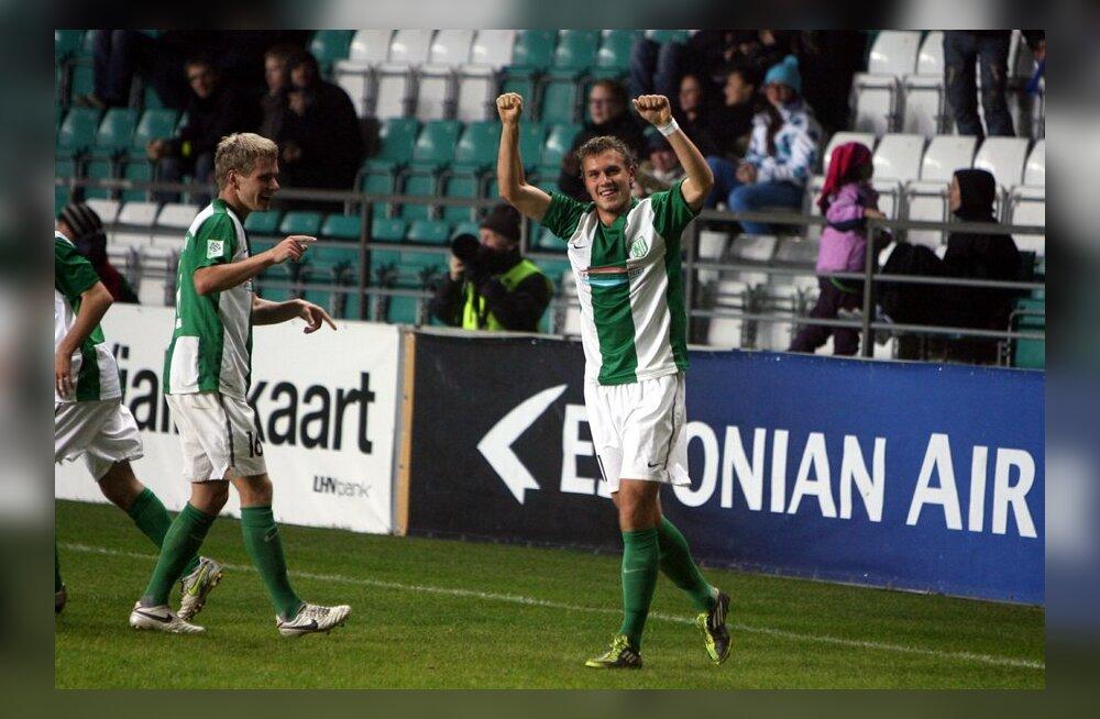 FC Flora võitis Soome kõrgliigaklubi