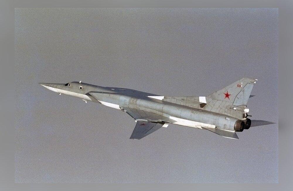 Ajaleht: Vene raskepommitajad harjutasid rünnakut Rootsi vastu