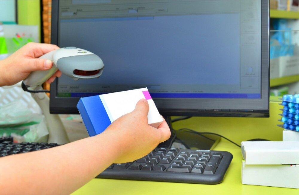 Iga ravimi turvakoodi kontrollitakse nüüd arvuti abil.