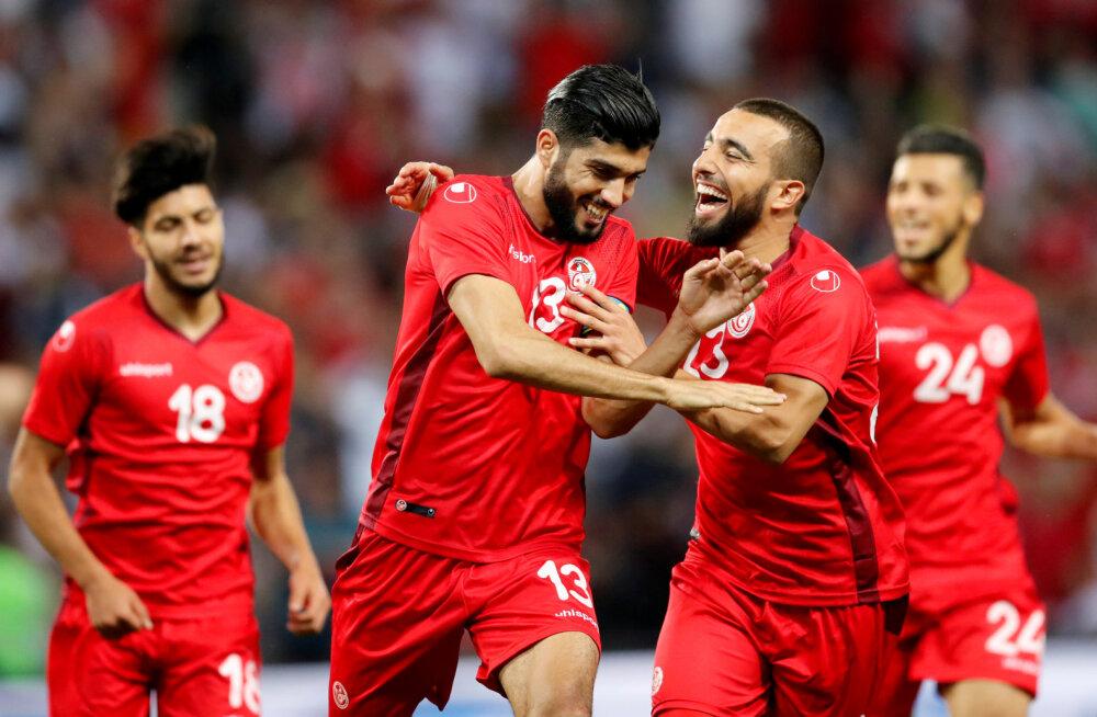 6 PÄEVA JALGPALLI MM-ini | Sõprusmängud näitasid, et kihlveokontorites autsaideriks peetav Tuneesia on üllatusvõimeline