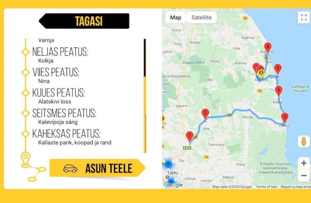 Võta ette mõnus retk kodumaal: 45 automatka teekonda kutsuvad Eesti aardeid avastama