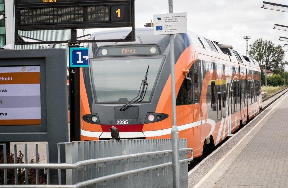 Rongiliiklus Tallinna ja Pärnu vahel katkebki. Viimane rong väljub 8. detsembril