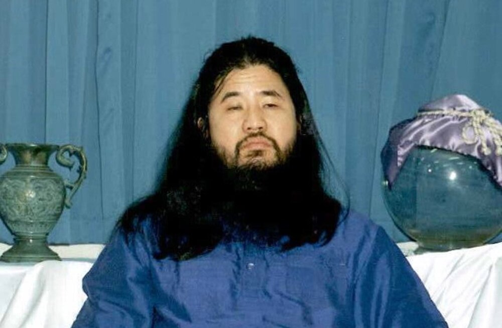 Jaapanis hukati 1995. aasta Tokyo metroo närvigaasirünnaku toime pannud sekti juht Shoko Asahara ja kuus liiget