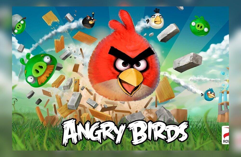 NSA kogub Angry Birdsi, Google Mapsi ja muude äppide kaudu kõige isiklikumaid andmeid