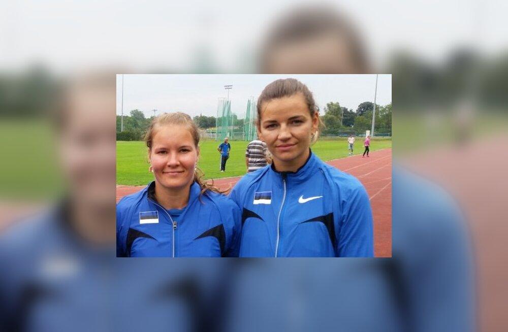 Eestile kurtide kergejõustiku EM-i viimaselt võistluspäevalt kaks medalit
