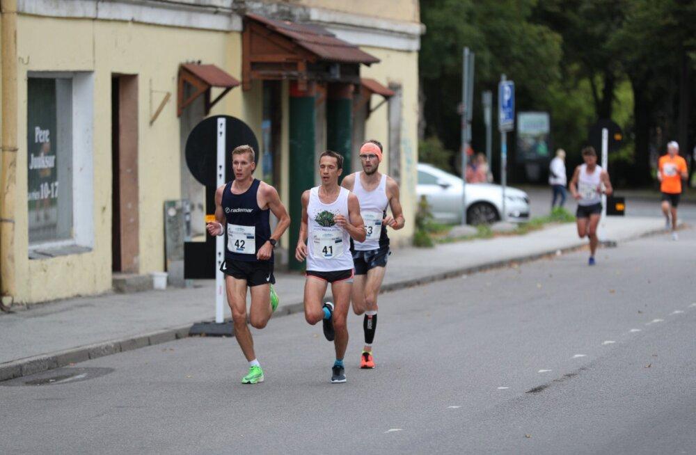 Eesti maratonijooksu meistrivõistlused toovad Tallinna liiklusesse muudatusi