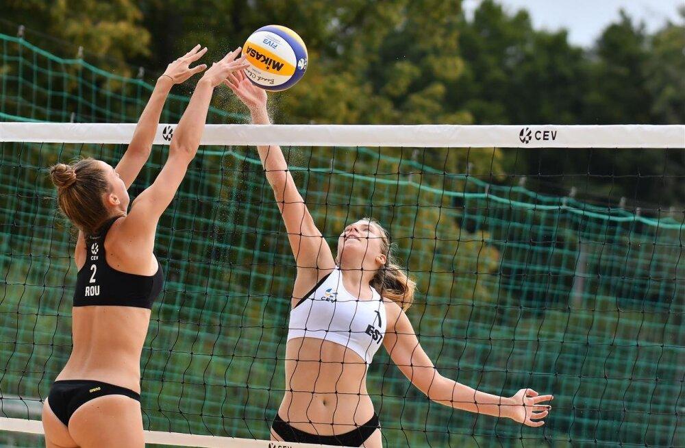 Eesti rannavollepaar pääses U20 EM-il alagrupist edasi, aga langes siis konkurentsist