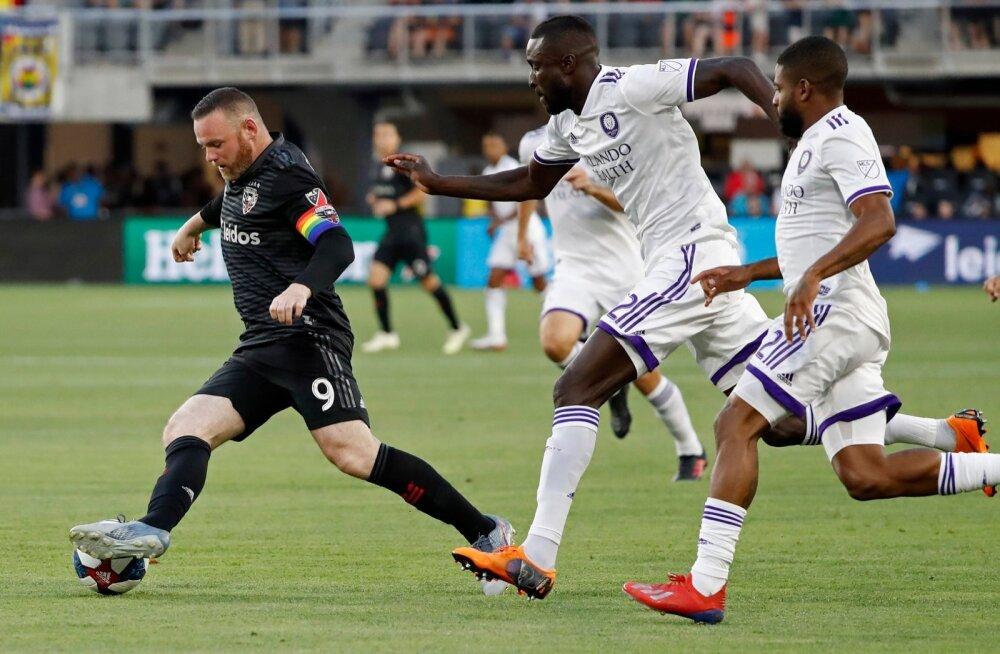 Wayne Rooney osavus on USA liiga mängijatele kohati liiast.