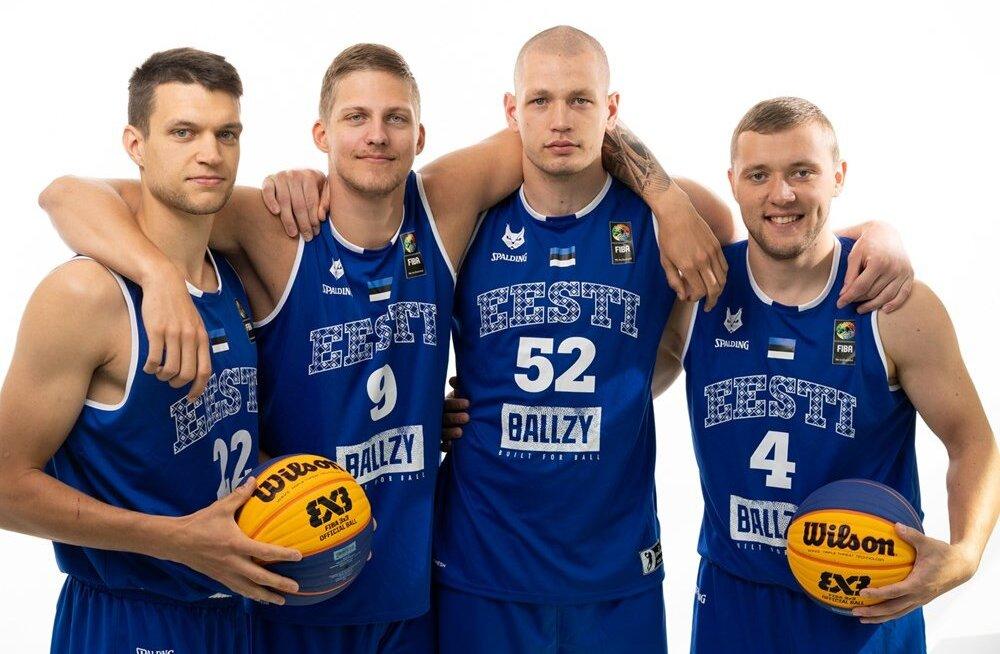 Edasipääsulootuse minetanud Eesti 3x3 korvpallikoondis lõpetas MM-i võiduga Venemaa üle
