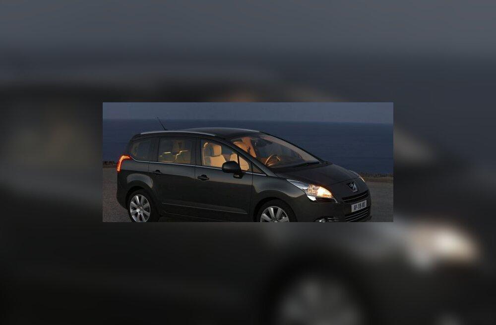 Peugeot 5008 - värskeim pereauto on kohal