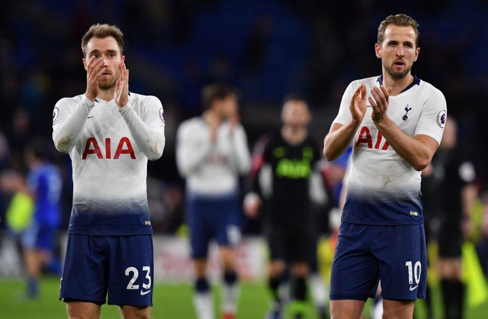 VIDEO | Tottenham otsustas Cardiffi vastu mängu vähem kui poole tunniga