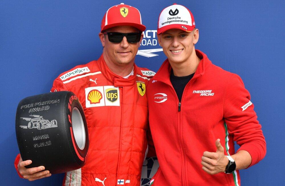 Mick Schumacher soovis Kimi Räikköneni enda tiimikaaslaseks: otsus on aga tehtud
