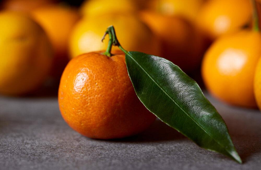 Viis head põhjust, miks tasub süüa mandariine