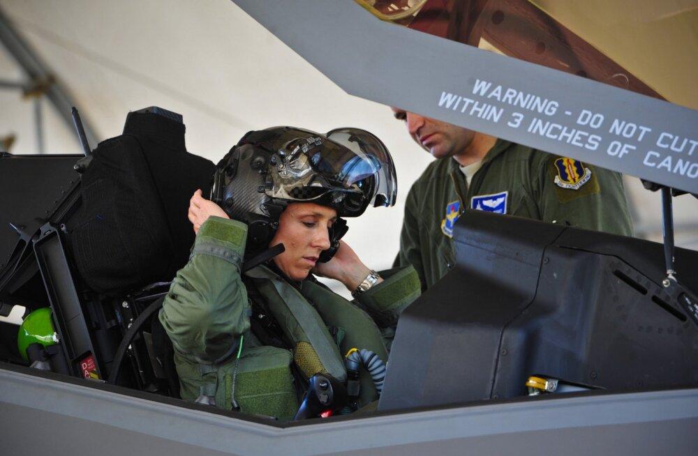 Keeld maha: alakaalulised piloodid tohivad siiski lennata hävitajatega F-35
