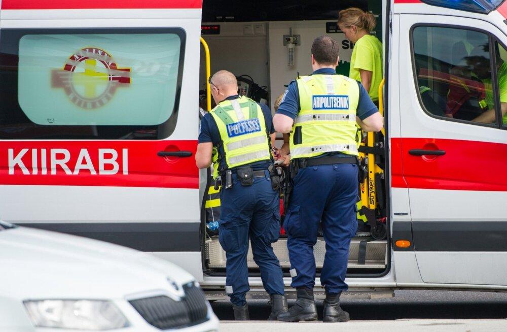 Liikluses sai viga kaheksa inimest, vahele jäi 16 ebakainet juhti