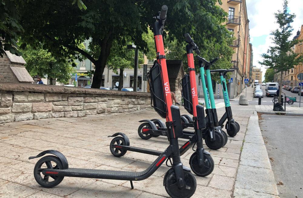 Kopenhaagenis võeti nädalavahetusel rajalt maha 28 purjus või pilves elektritõukeratta juhti