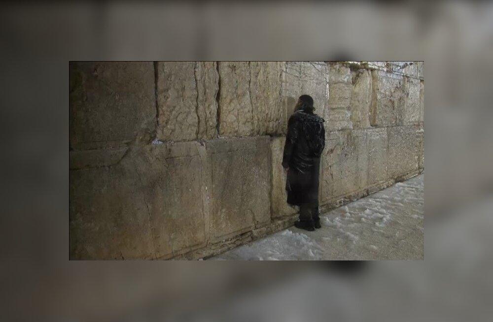 ФОТО: В Иерусалиме впервые за 5 лет выпал снег