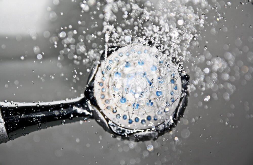 Ведра с водой и душ с открытой дверью. Как эстонцы борются с сухим воздухом дома