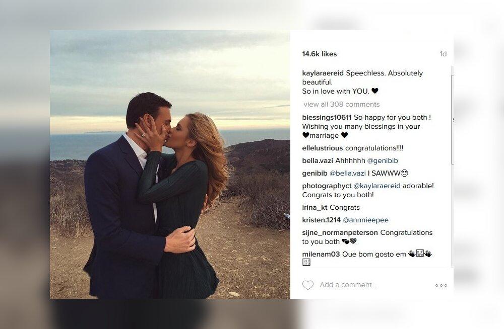 FOTOD: Rio olümpial tola mänginud Ryan Lochte kihlus endise Playboy modelliga
