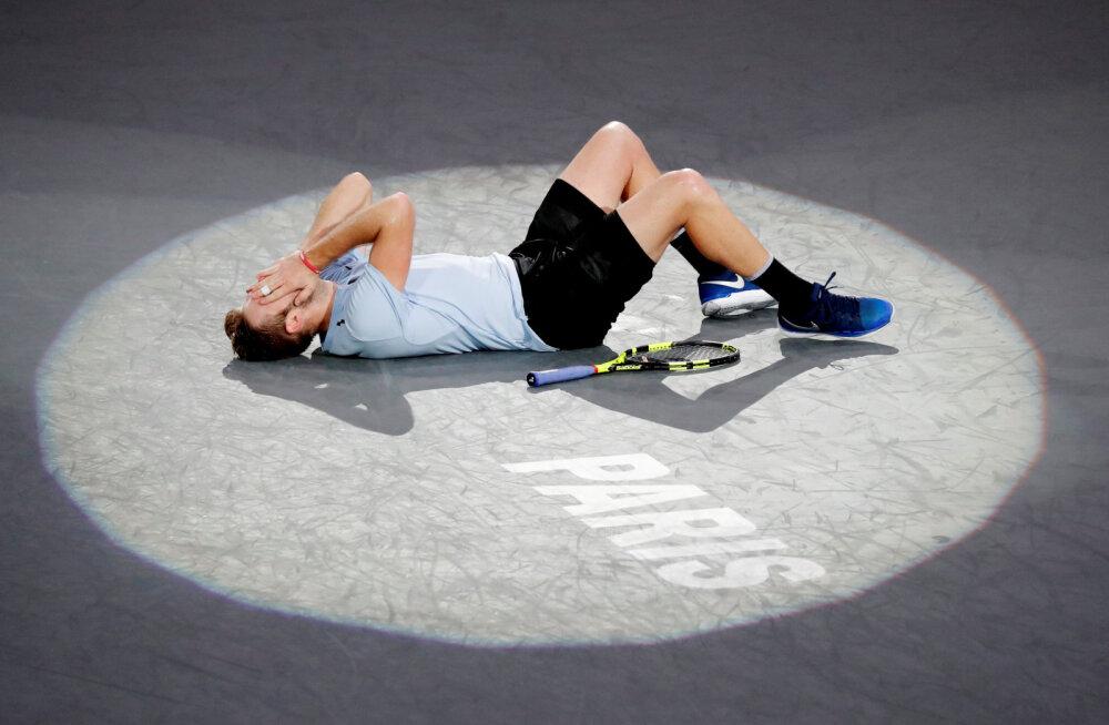 Pariisis võidutsenud Jack Sock pääses viimasena ATP aastalõputurniirile