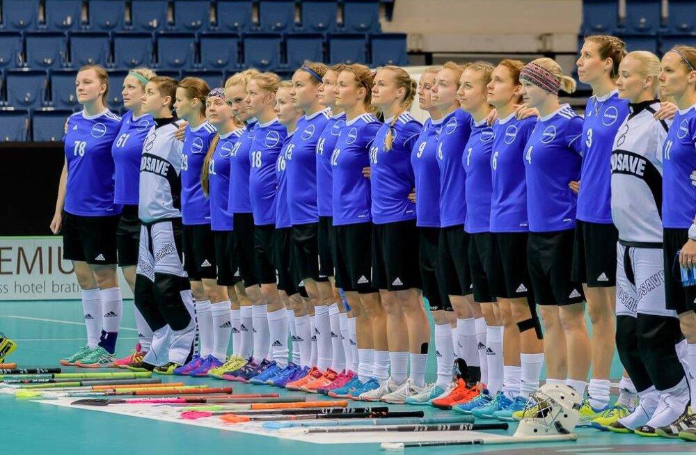 Eesti naiste saalihokikoondis koguneb viimast korda enne MM-kvalifikatsiooniturniiri