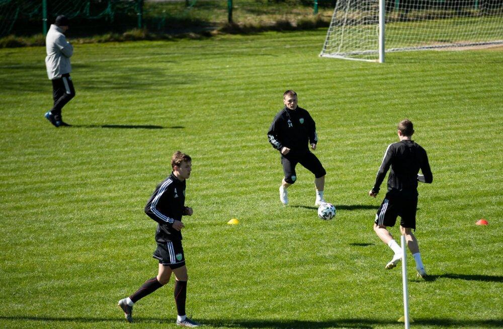 FCI Levadia treening