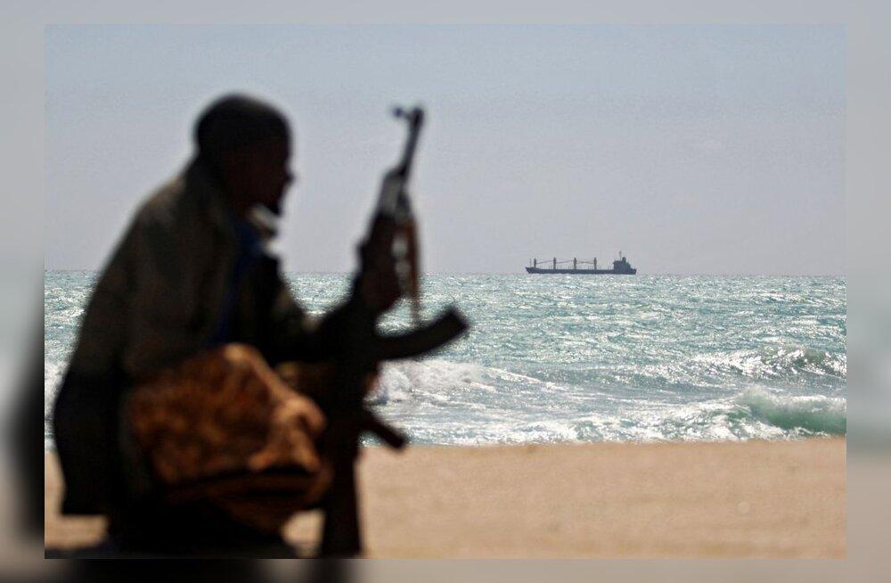 Эстонская миссия отправилась к берегам Сомали на борьбу с пиратами