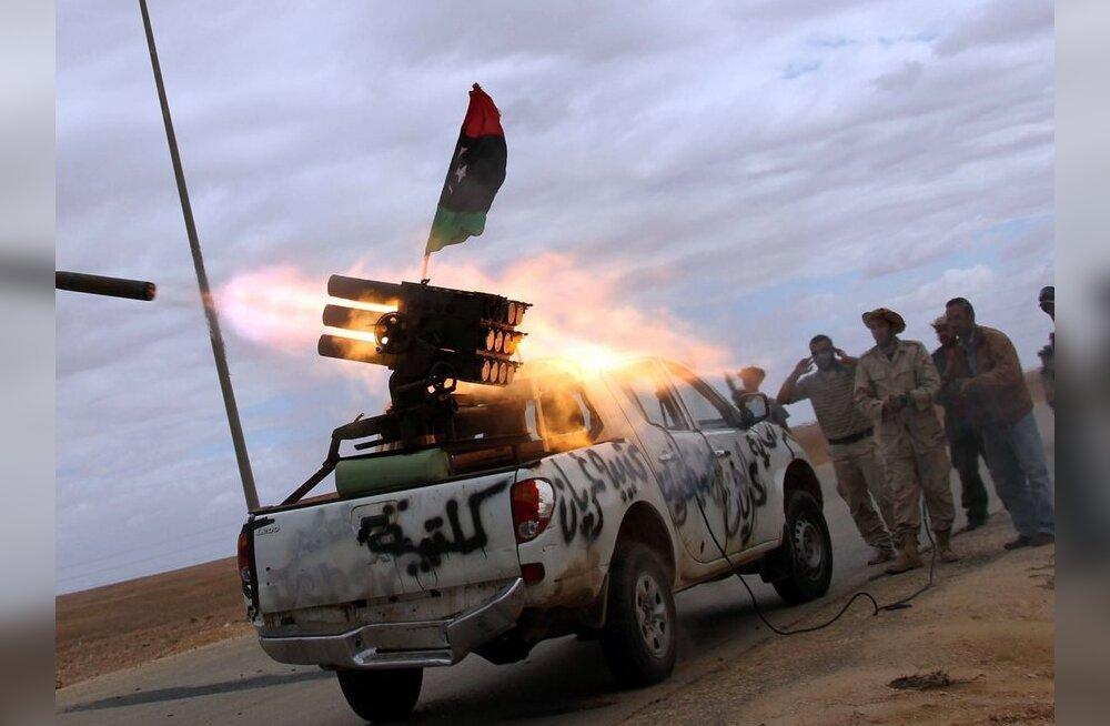 Liibüa ajutise valitsuse väed teatasid Bani Walidi sisenemisest