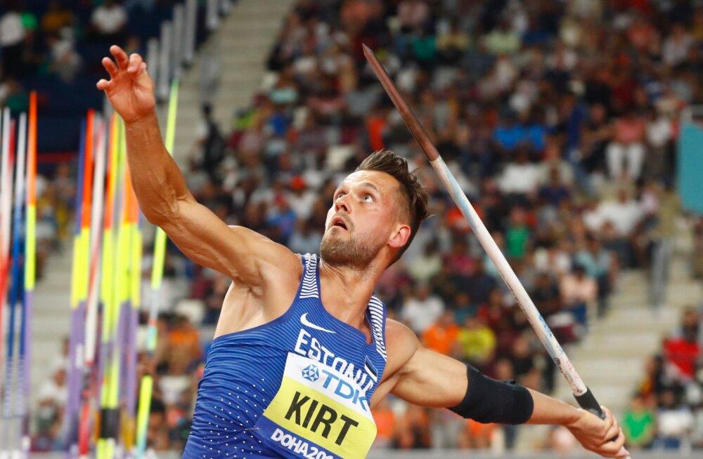 Magnus Kirt kaotab olümpiakoha üksnes siis, kui kolm eestlast temast oda rohkem viskavad.