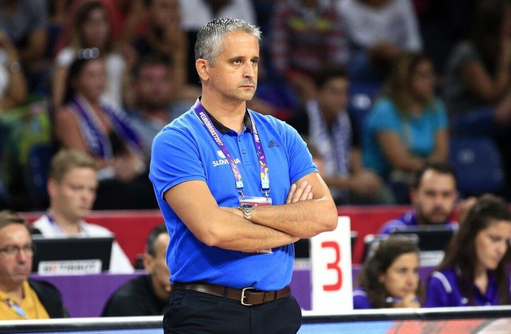 Sloveenia korvpallikoondise peatreener Igor Kokoškov