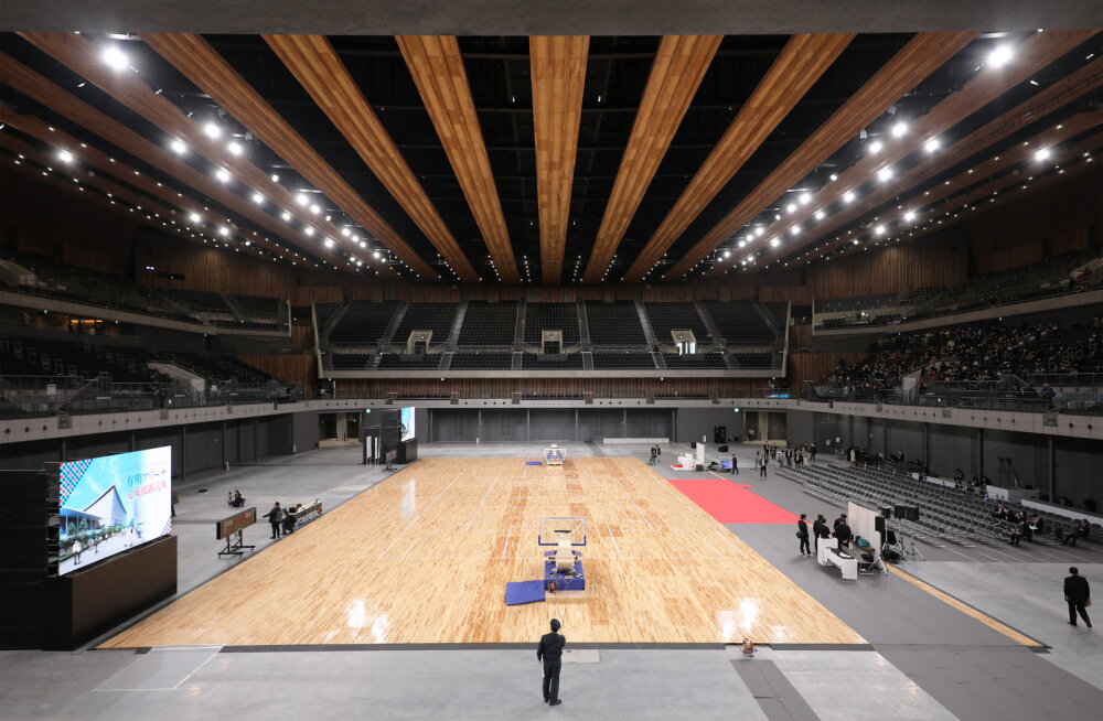 FOTOD | Tokyos avati olümpiamängude võrkpalliareen ning loositi alagrupid