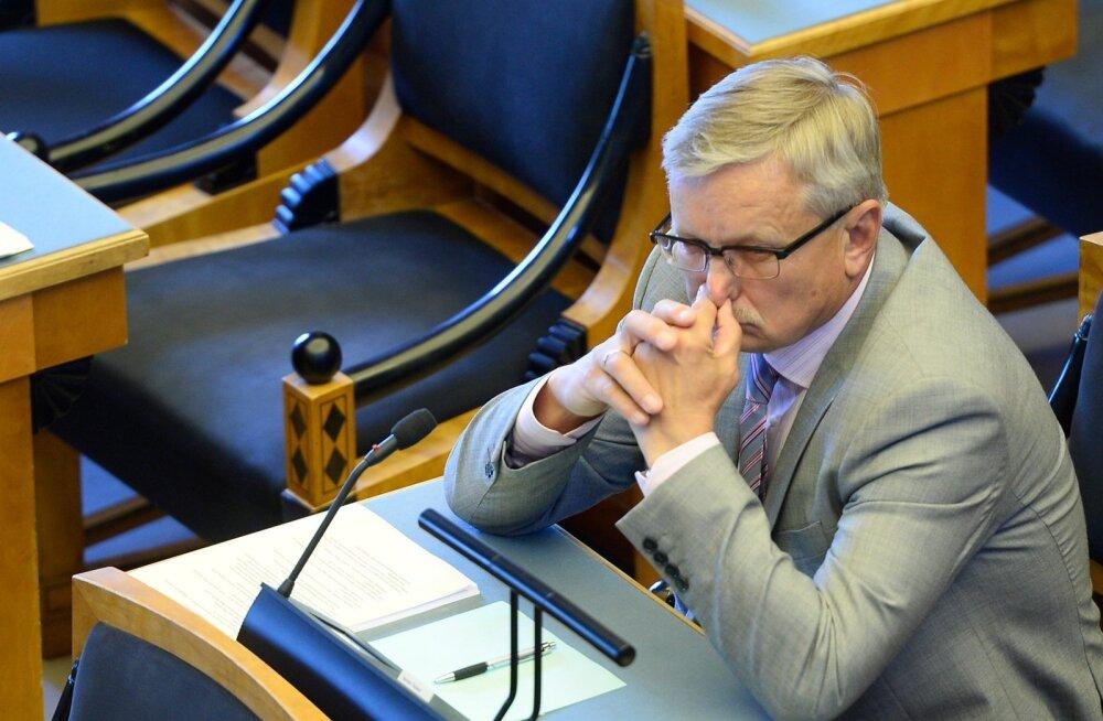 Repinski mantlipärija Tarmo Tamm on riigikogus suurimate sõnavõtjate seas