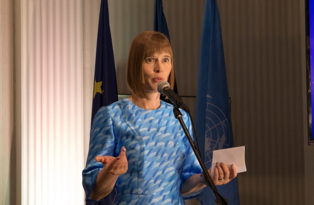 President Kersti Kaljulaid: erinevatel inimestel võib olla erinevaid seisukohti, kuid parlamendidebatti presidendi otsevalimiste üle ei toimu