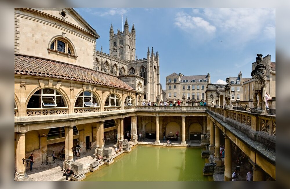 Mis toimus Vana-Rooma saunades?
