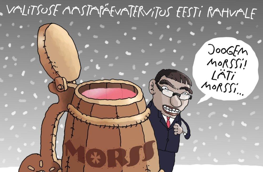 KARIKATUUR | Jooge morssi!