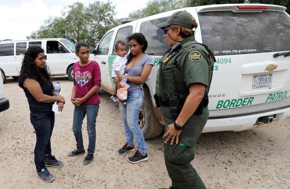 USA osariigid kaebasid Trumpi administratsiooni sisserändajate perede lahutamise pärast kohtusse